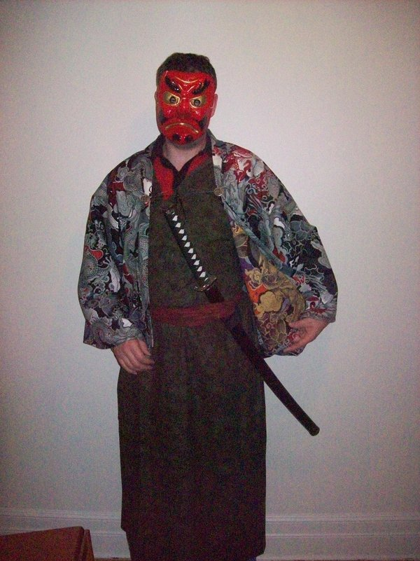 Shoshuro Jim with Mask
