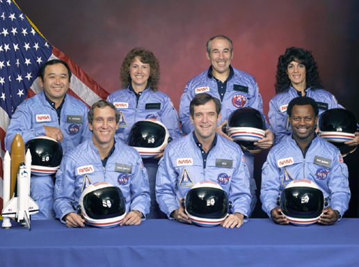 The official Challenger Crew pic