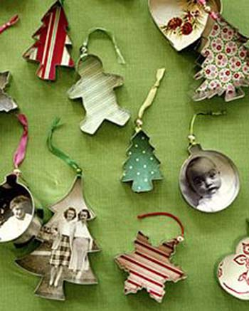 do it yourself christmas ornaments using cookie cutters