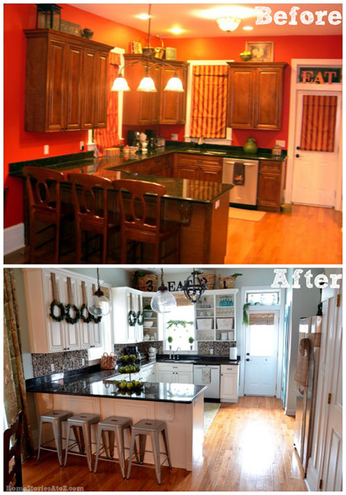 Kitchen DIY Before and After