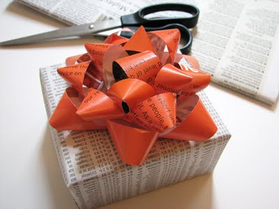 DIY Gift Bow Pic 1