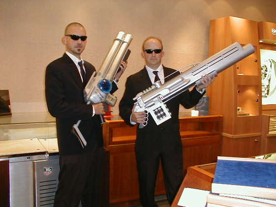 Men in Black - Halloween costume