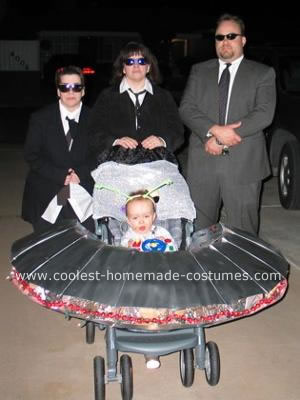 Men in Black Halloween Costumes