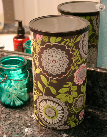 Recycled Oatmeal Container - Great Storage - almost free