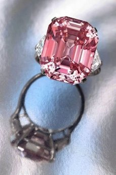 Rare Pink Diamond offered at Sotheby's