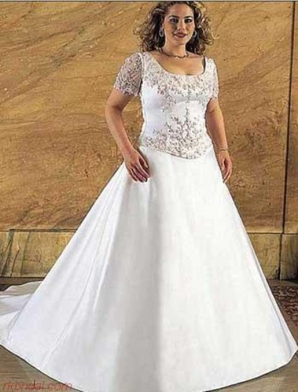 Plus Size Bridal Gown Pic 1