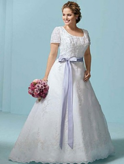Plus Size Bridal Gown Pic 2