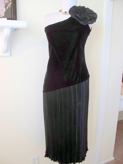 Vintage Black Cocktail Dress