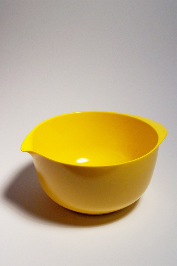 Vintage Rosti of Denmark Melamine Yellow 4 Liter Mixing Bowl