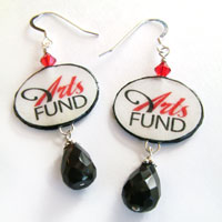 Arts Fund logo jewelry