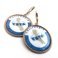 logo jewelry for California Science Teachers Association