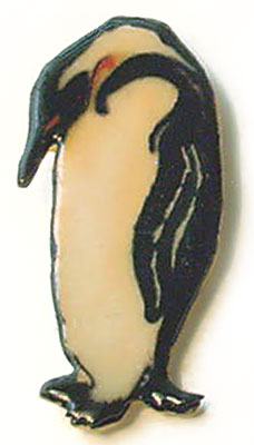 Penguin Pin closeup
